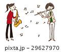 音楽 演奏者 ベクターのイラスト 29627970
