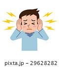 耳鳴りに悩む男性 29628282