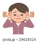 耳鳴りに悩むシニア女性 29628324