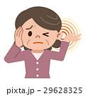 耳鳴りに悩むシニア女性 29628325