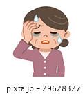 体調不良のシニア女性 29628327