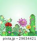 お花 フラワー 咲く花のイラスト 29634421