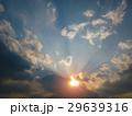 夕日と光芒 29639316