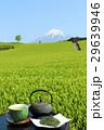 富士山 山 茶畑の写真 29639946