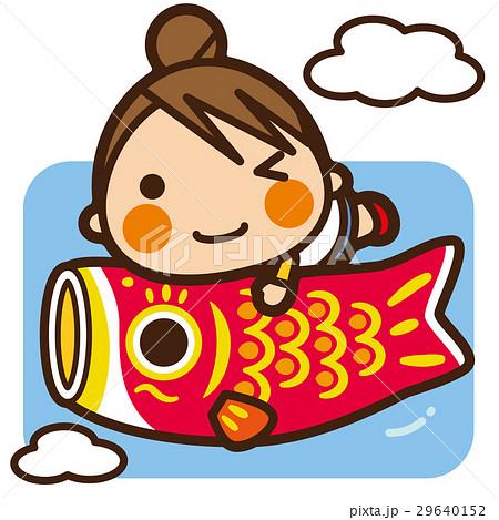 がっこうKids 鯉のぼり女子 29640152