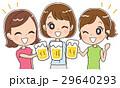 女子会のイラスト 29640293