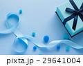 青いプレゼントのイメージ 29641004
