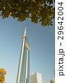 木陰から見る福岡タワー 29642004