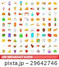 100 100 ブレックファーストのイラスト 29642746