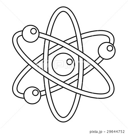 atom coloring pages - photo#13