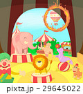 Circus concept scene, cartoon style 29645022