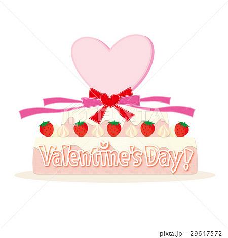 ケーキ リボン バレンタイン 29647572