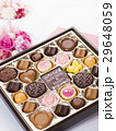 チョコ チョコレート バレンタインデーの写真 29648059