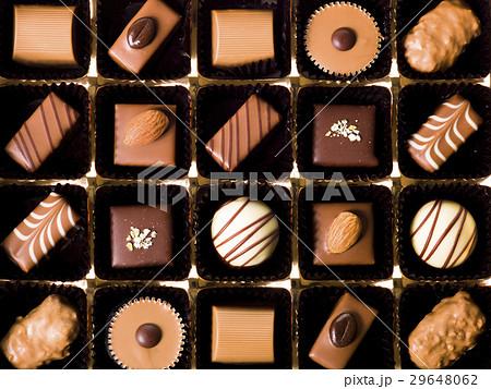 チョコレート(バレンタインイメージ) 29648062