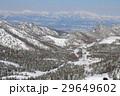 横手山山頂付近からの山岳風景 29649602