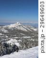 横手山山頂付近からの山岳風景 29649603