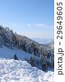 横手山山頂付近からの山岳風景 29649605