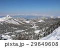 横手山山頂付近からの山岳風景 29649608