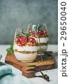 ヨーグルト グラノーラ 食の写真 29650040
