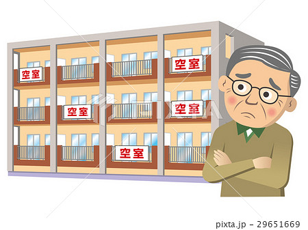 空室のあるアパート 29651669