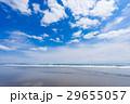 九十九里浜の海と青空と雲 29655057