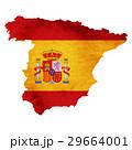 スペイン 地図 国旗のイラスト 29664001
