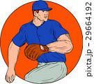 ベースボール 白球 野球のイラスト 29664192