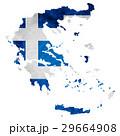 ギリシャ 地図  国旗 アイコン  29664908