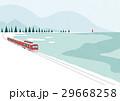 山 植物 景色のイラスト 29668258