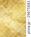 背景素材 金箔 市松模様のイラスト 29675683