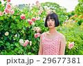 アジア人 ピンク色 若い女性の写真 29677381