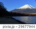 冠雪 富士山 山中湖の写真 29677944