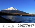 冠雪 富士山 山中湖の写真 29677947
