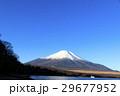 冠雪 富士山 山中湖の写真 29677952