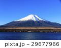 冠雪 富士山 山中湖の写真 29677966
