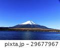 冠雪 富士山 山中湖の写真 29677967