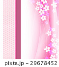 桜 和柄 和風のイラスト 29678452