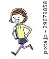 学生 ベクター 走るのイラスト 29679858