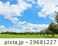 青空 雲 公園の写真 29681227