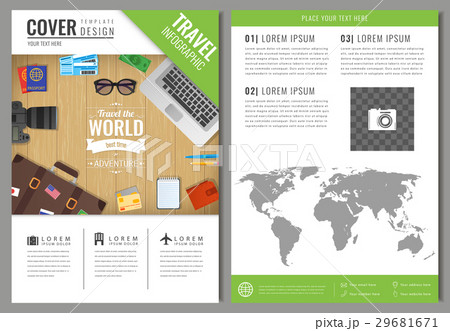 Travel brochure design. Template for Travel and 29681671