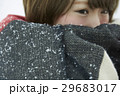 冬 雪 女性の写真 29683017