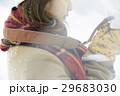 冬 雪 女性の写真 29683030