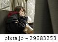 冬 女性 1人の写真 29683253