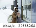 冬 女性 1人の写真 29683268