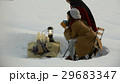 雪上でのティータイム 29683347