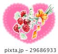 カーネーション 花束 プレゼントのイラスト 29686933