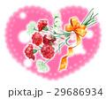 カーネーション 花束 プレゼントのイラスト 29686934