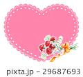 カーネーション 花束 プレゼントのイラスト 29687693