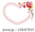 カーネーション 花束 ハートのイラスト 29687835