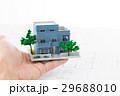 住宅図面と家 不動産イメージ 29688010